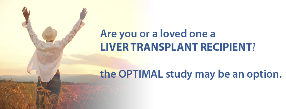 OPTIMAL a study for liver transplant recipients